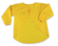 Waterproof apron to safely color