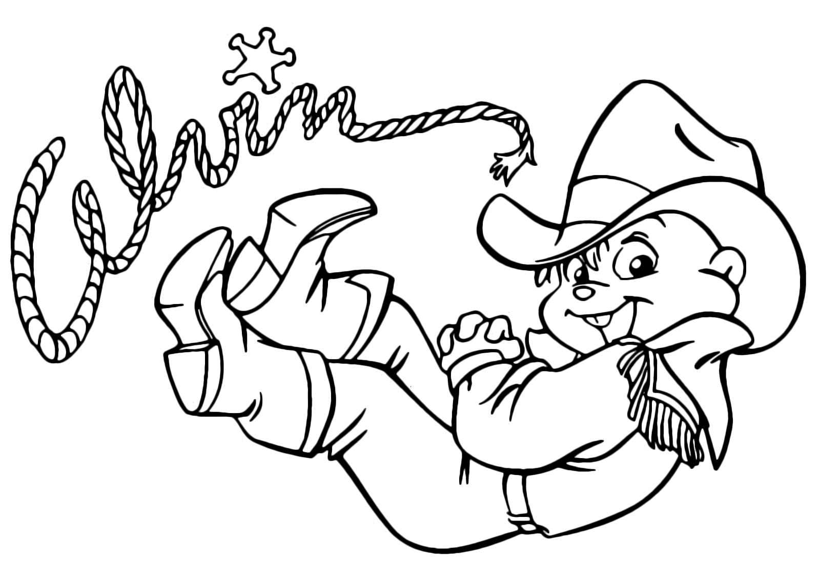 Alvin And The Chipmunks Alvin Cowboy Suit