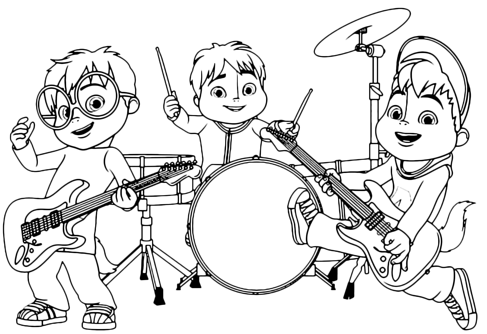 quot alvin and the chipmunks quot coloring pages