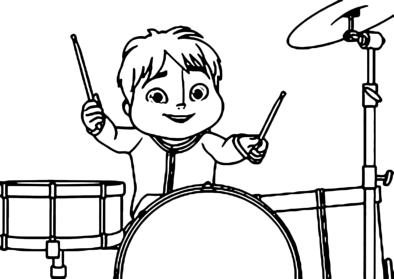 alvin and the chipmunks theodore plays drums