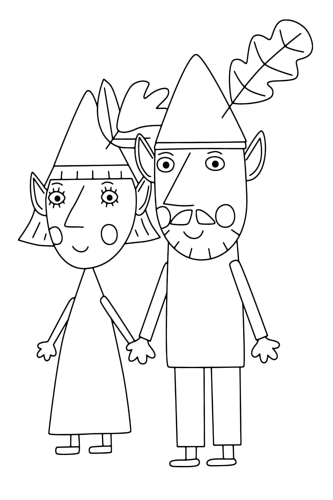 ben and holly s little kingdom coloring pages - ben holly 39 s little kingdom ben 39 s parents mr elf and