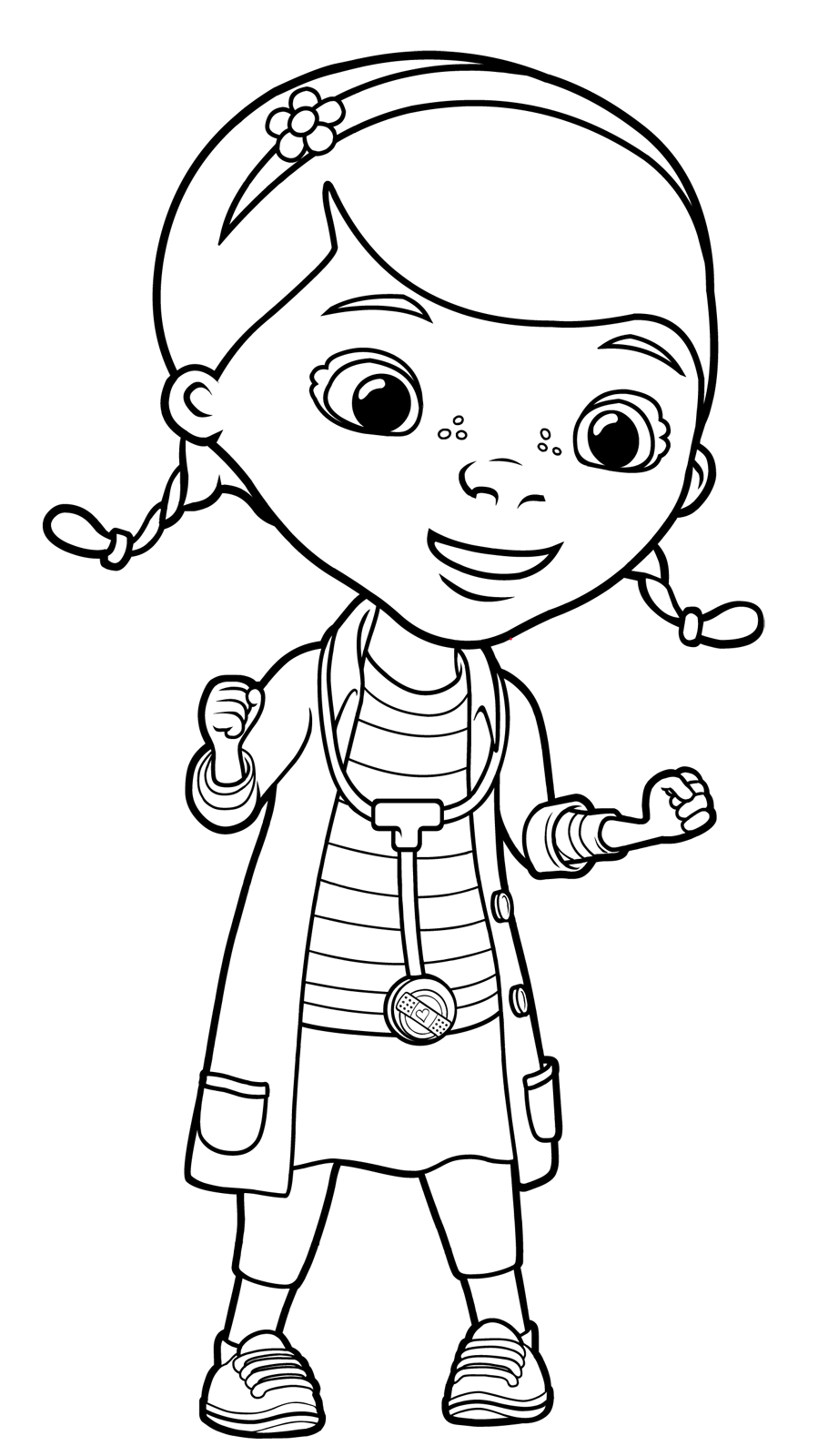Quot Doc Mcstuffins Quot Coloring Pages