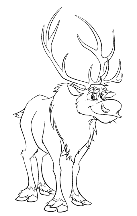 Frozen - The reindeer Sven