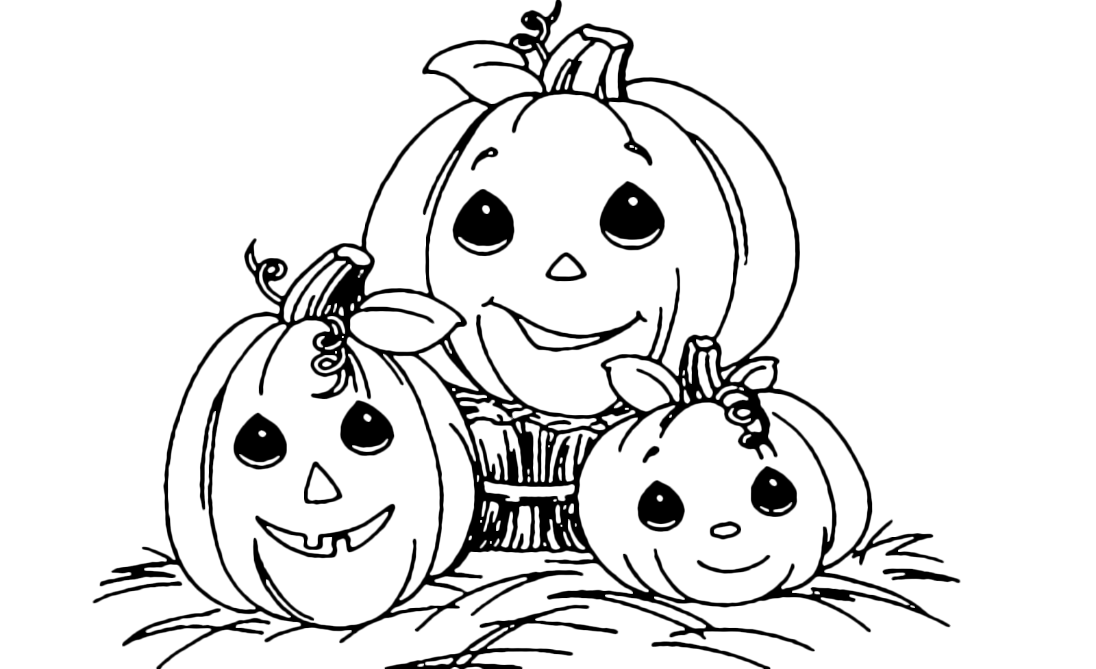 templates | Pumpkin coloring pages, Five little pumpkins, Coloring ... | 978x1600