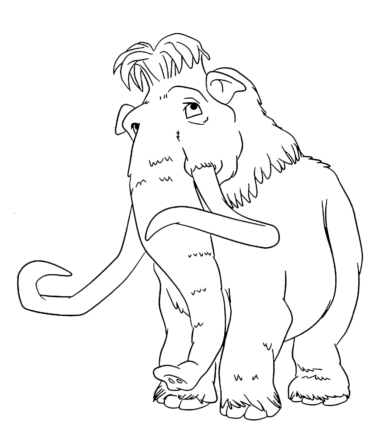 Ice Age - Ellie is Manny's mammoth girlfriend