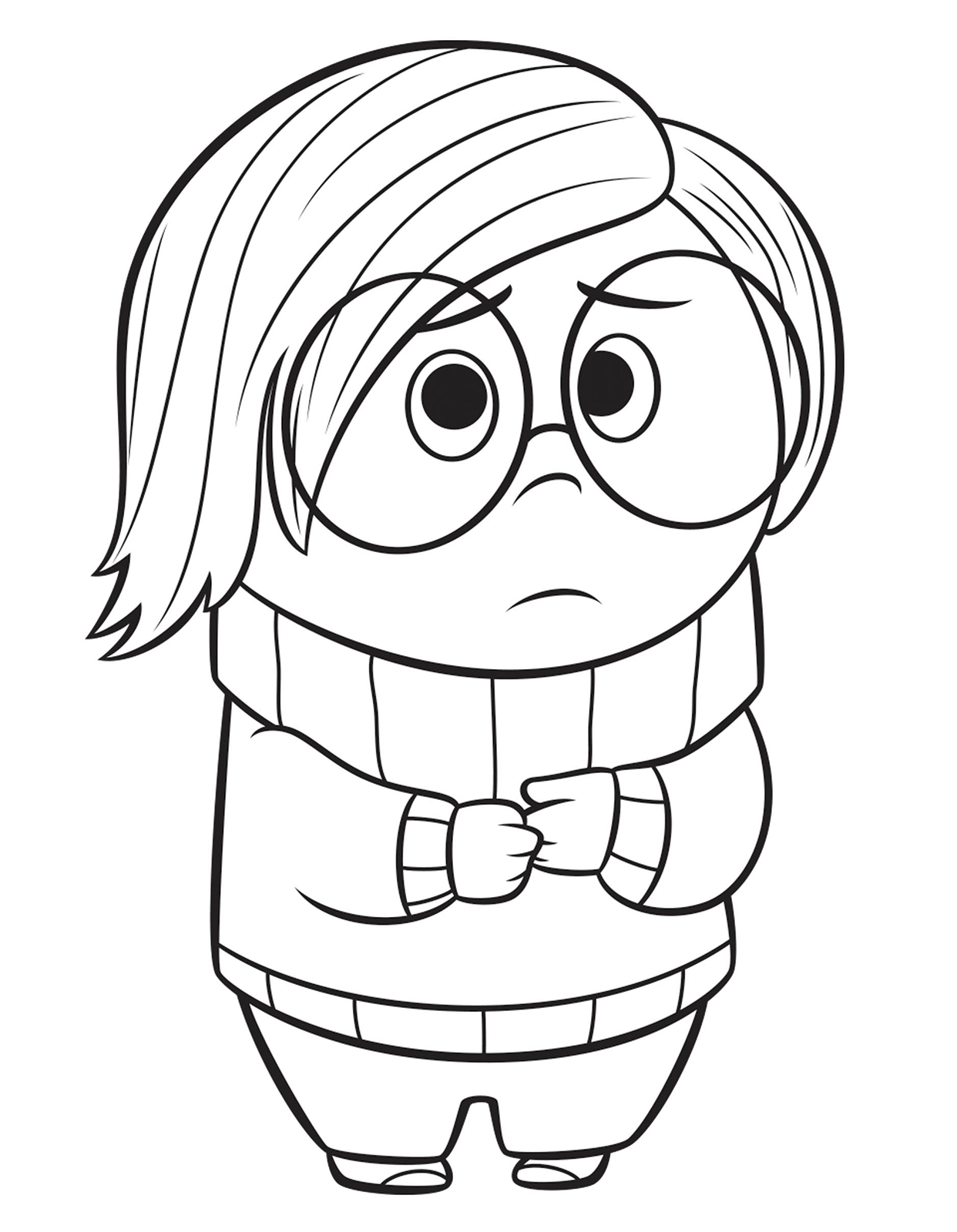 Images Of Inside Out Coloring Pages Sadness Sabadaphnecottage