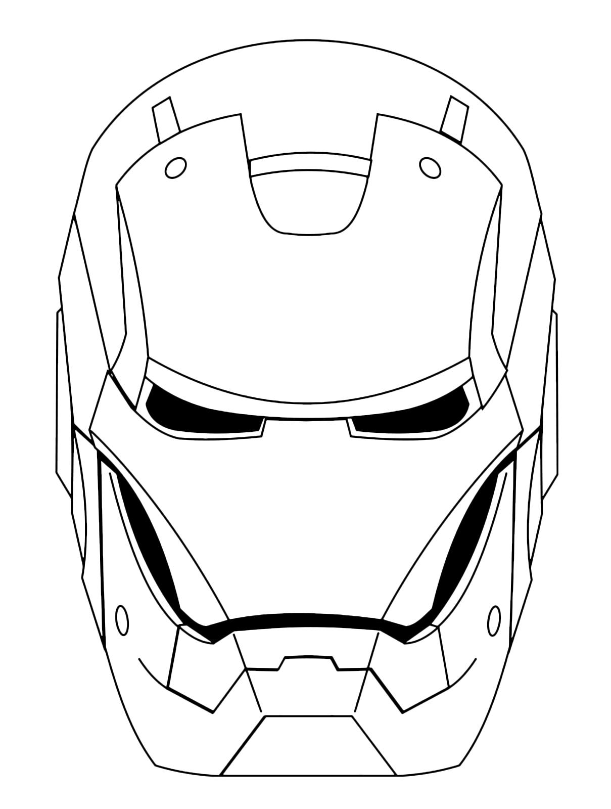 Iron Man - The Iron Man head