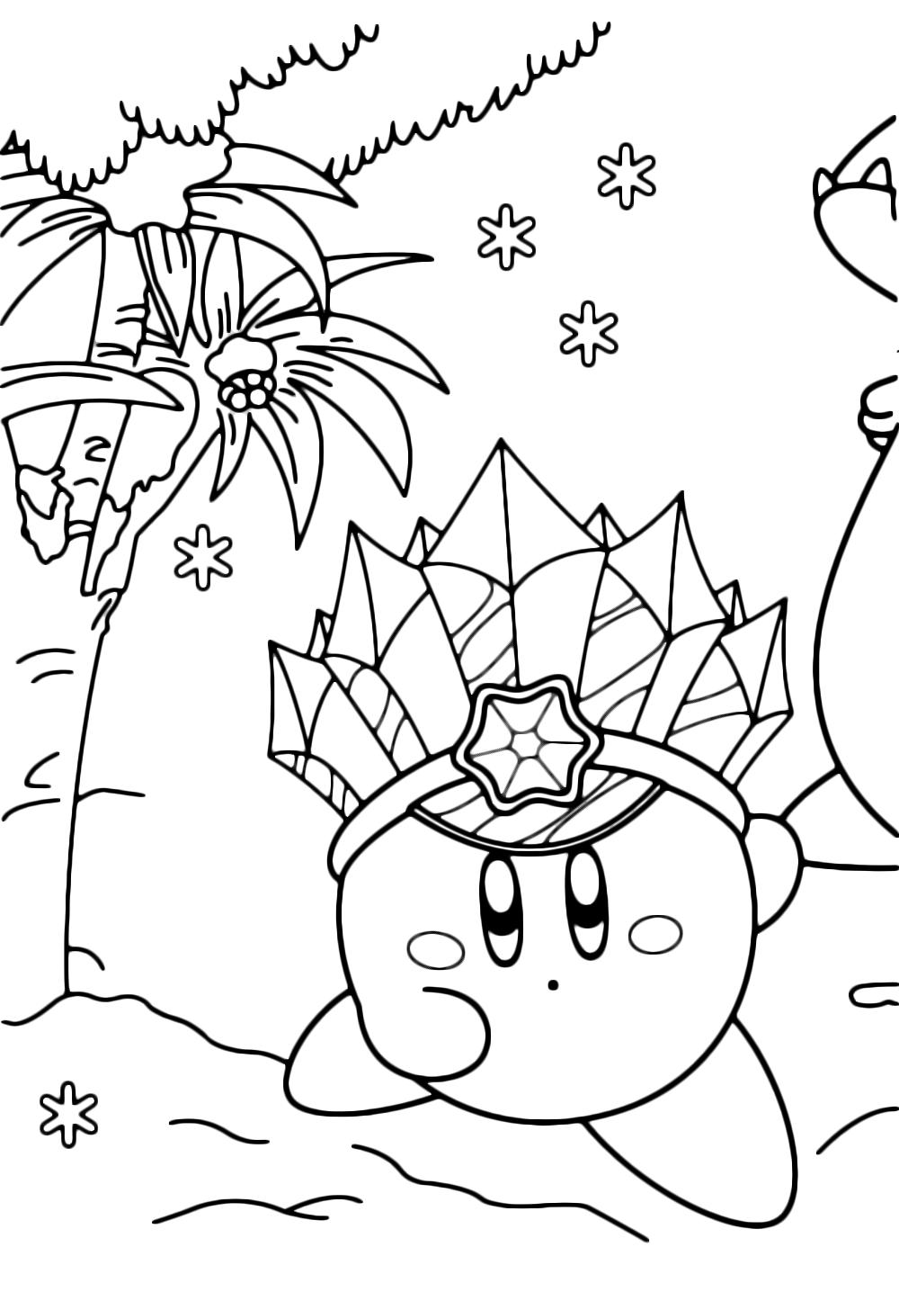 Bonito Kirby Para Colorear Ideas - Ideas Para Colorear ...