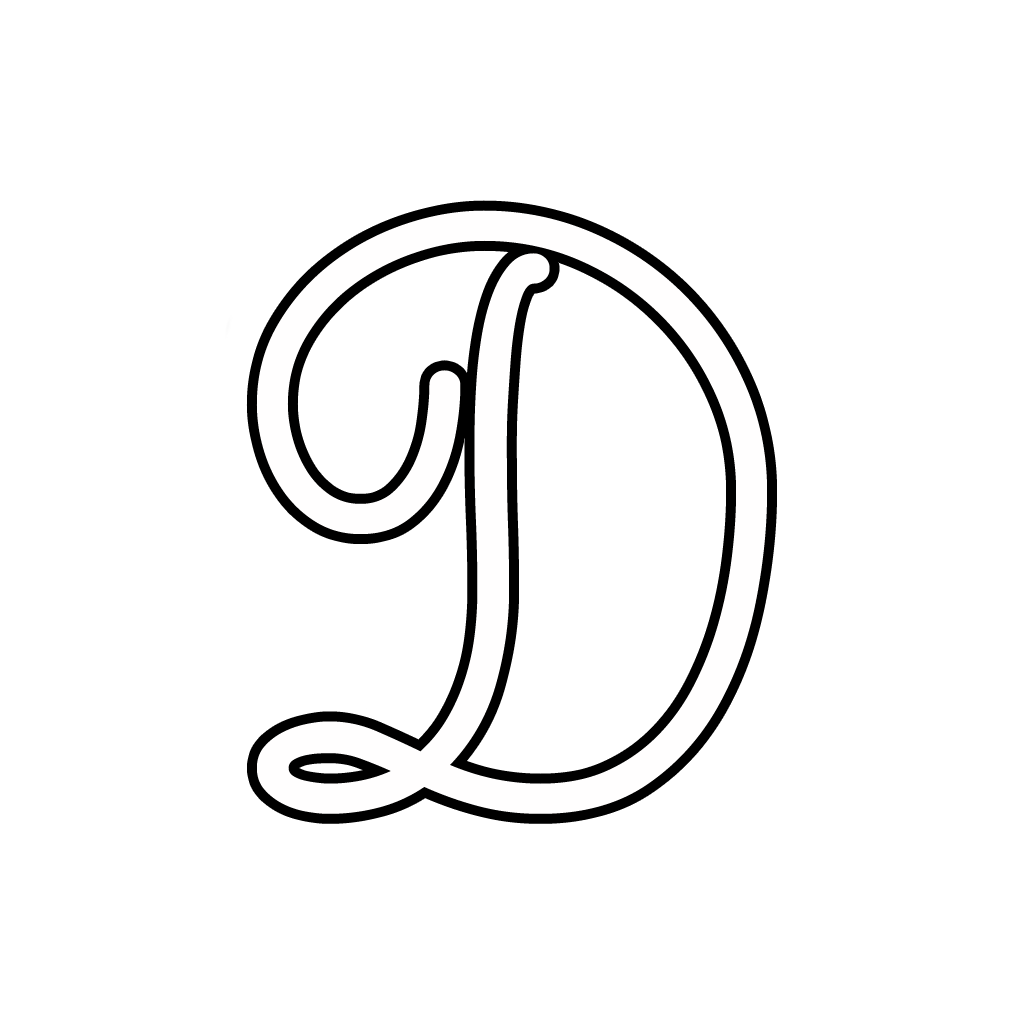 And numbers cursive uppercase letter d cursive uppercase letter d biocorpaavc Image collections