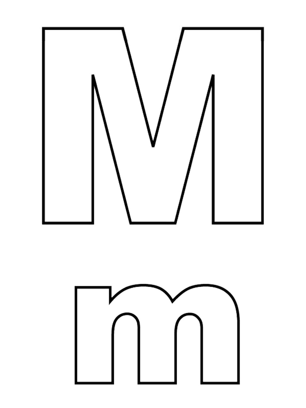 Coloring Pages For The Capital Letter A Coloring Best