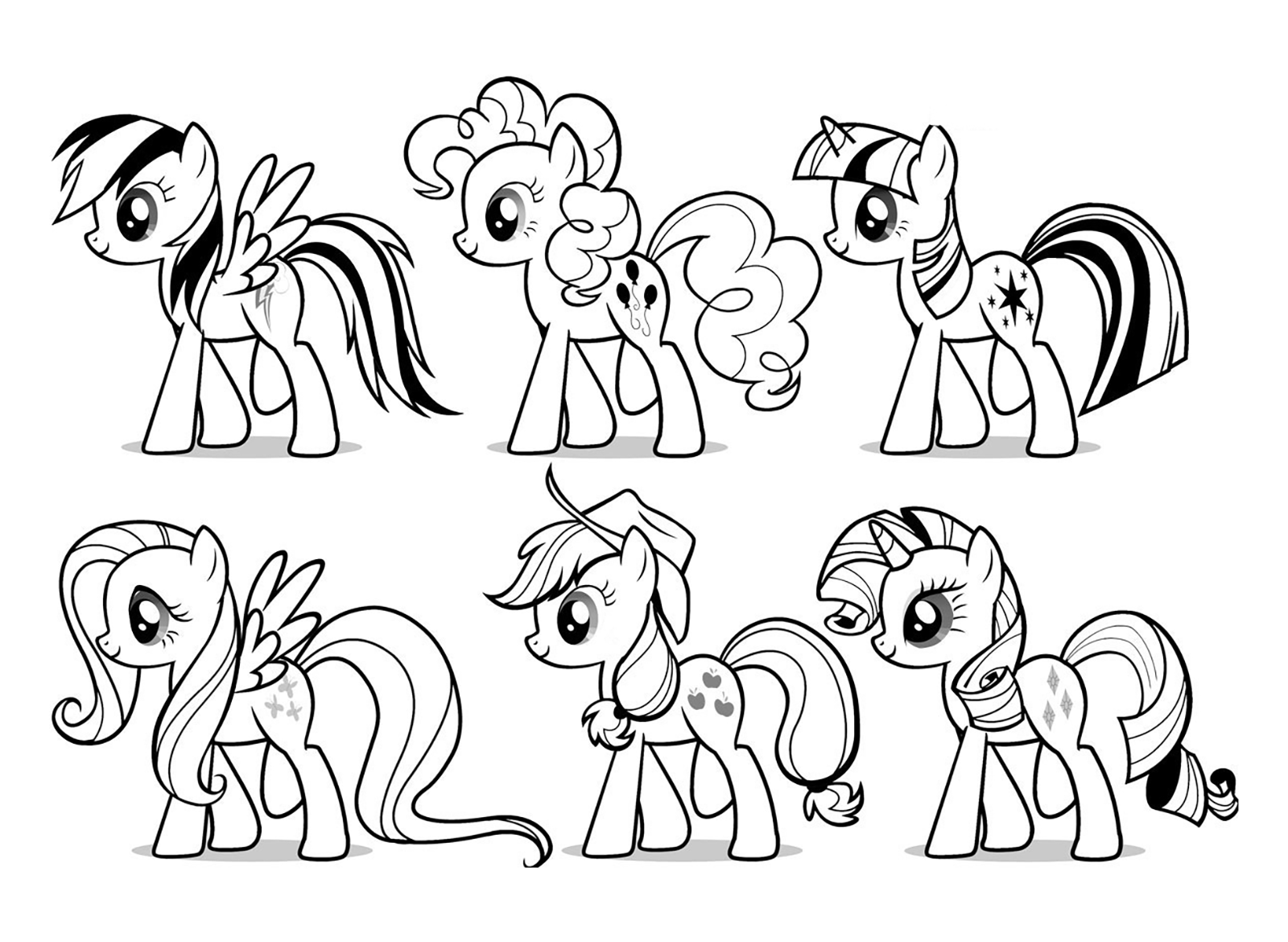 My Little Pony - My Little Pony all together