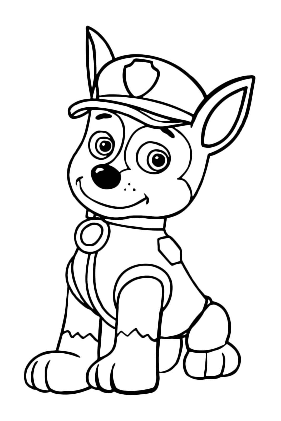 Paw Patrol Coloring Pages Pdf