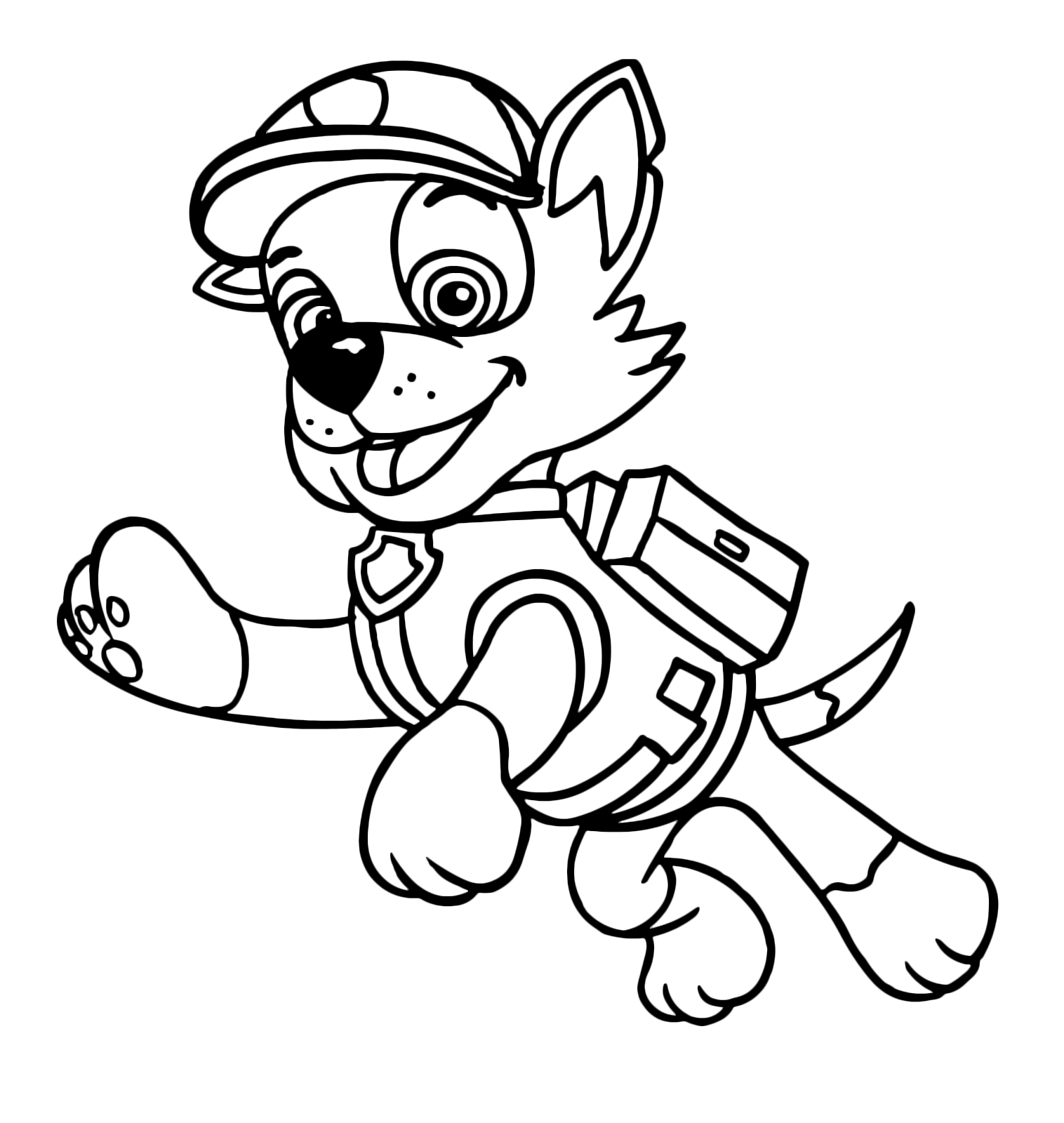 Paw Patrol Rocky Recycler Dog In