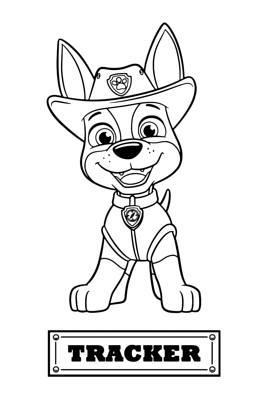 Paw Patrol Tracker Jack Russell Puppy Arrived From The