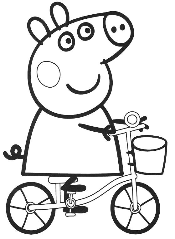 Peppa Pig Peppa Pig Rides A Bicycle