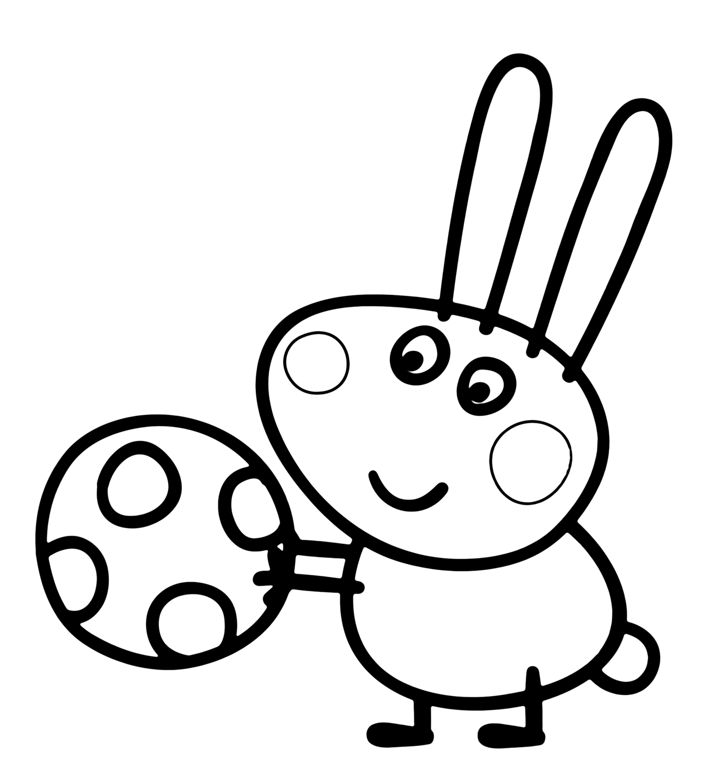 Peppa Pig Richard Rabbit a Gee