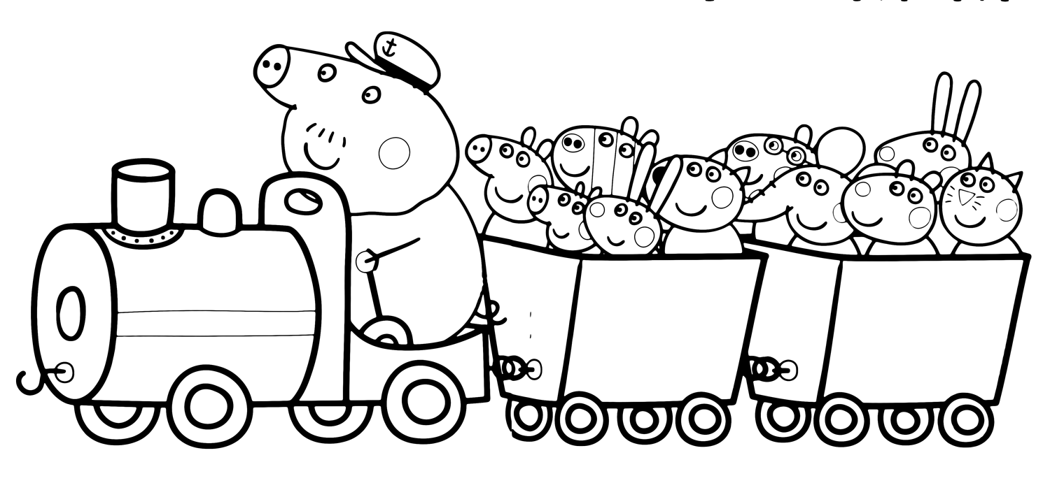 Peppa Pig The Grandpa Pig 39 s train