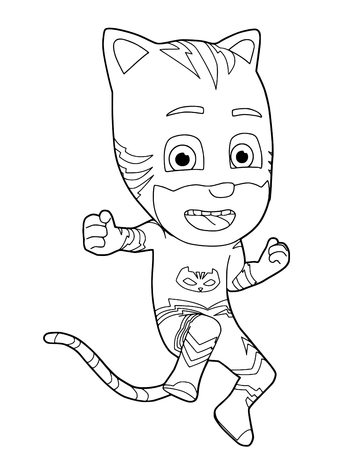 How To Draw Pj Masks Catboy