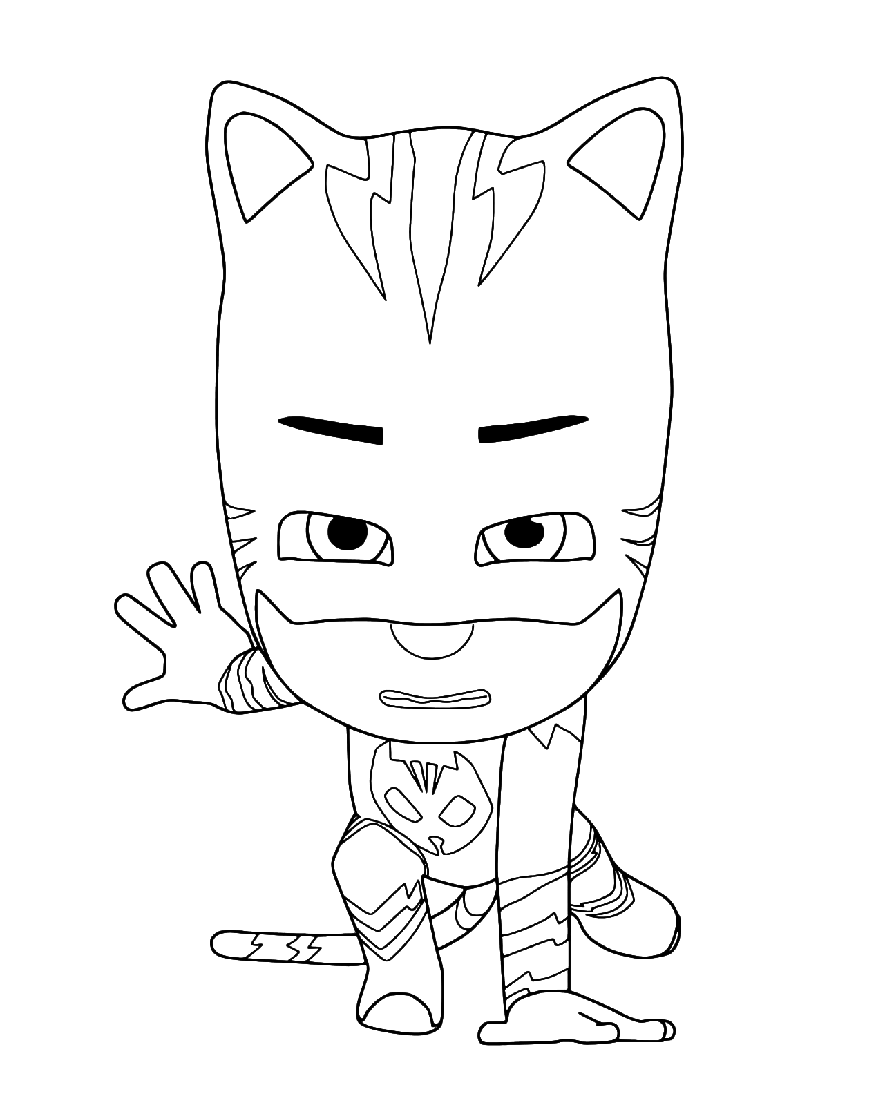PJ Masks - Connor disguised as Catboy