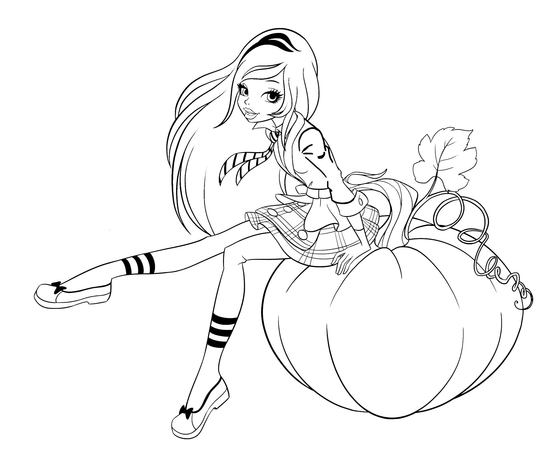 Regal Academy Rose Cinderella Sit On The Pumpkin