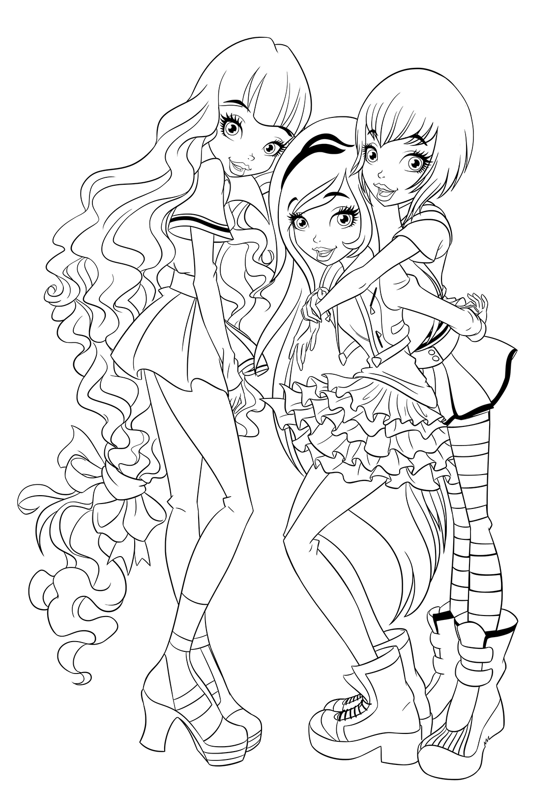 regal academy rose joy and astoria all together
