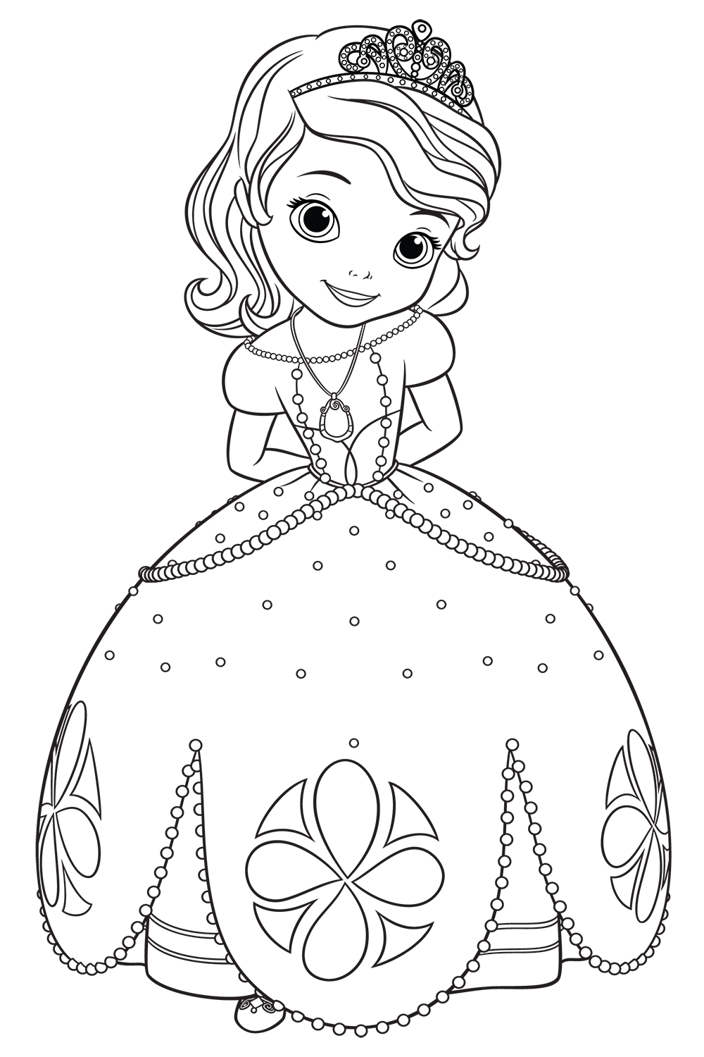 quot Sofia the First quot coloring pages