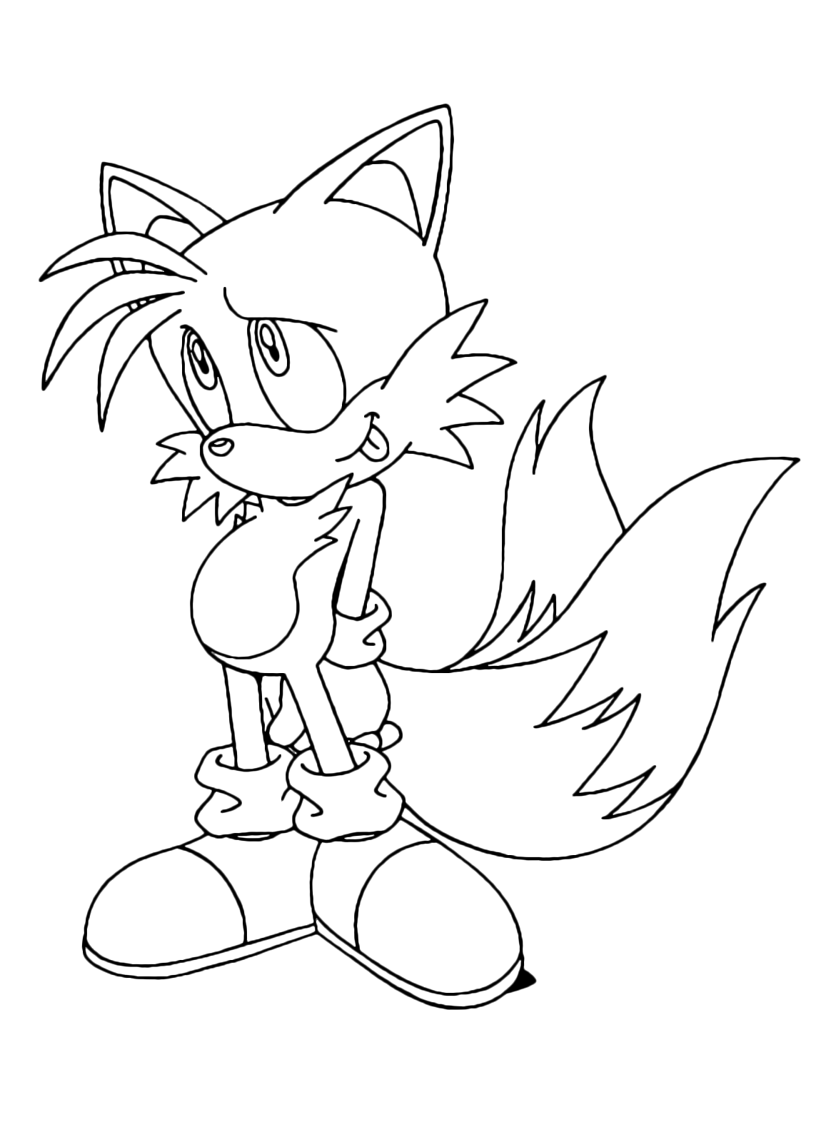 Sonic Boom - Miles Tails Prower th eyellow fox