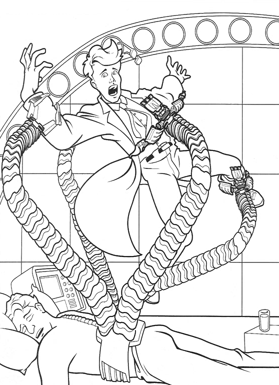 spiderman the doctor octopus tentacles