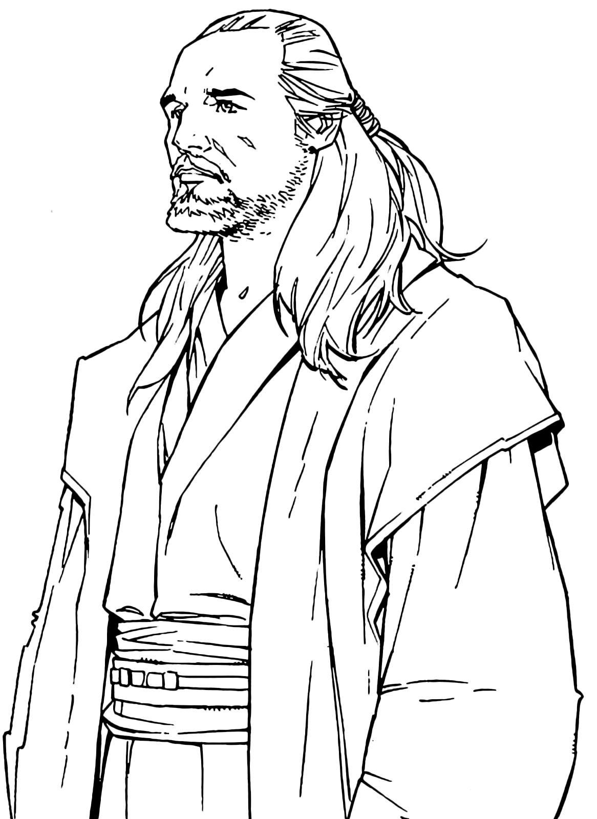 star wars the jedi master qui gon jinn