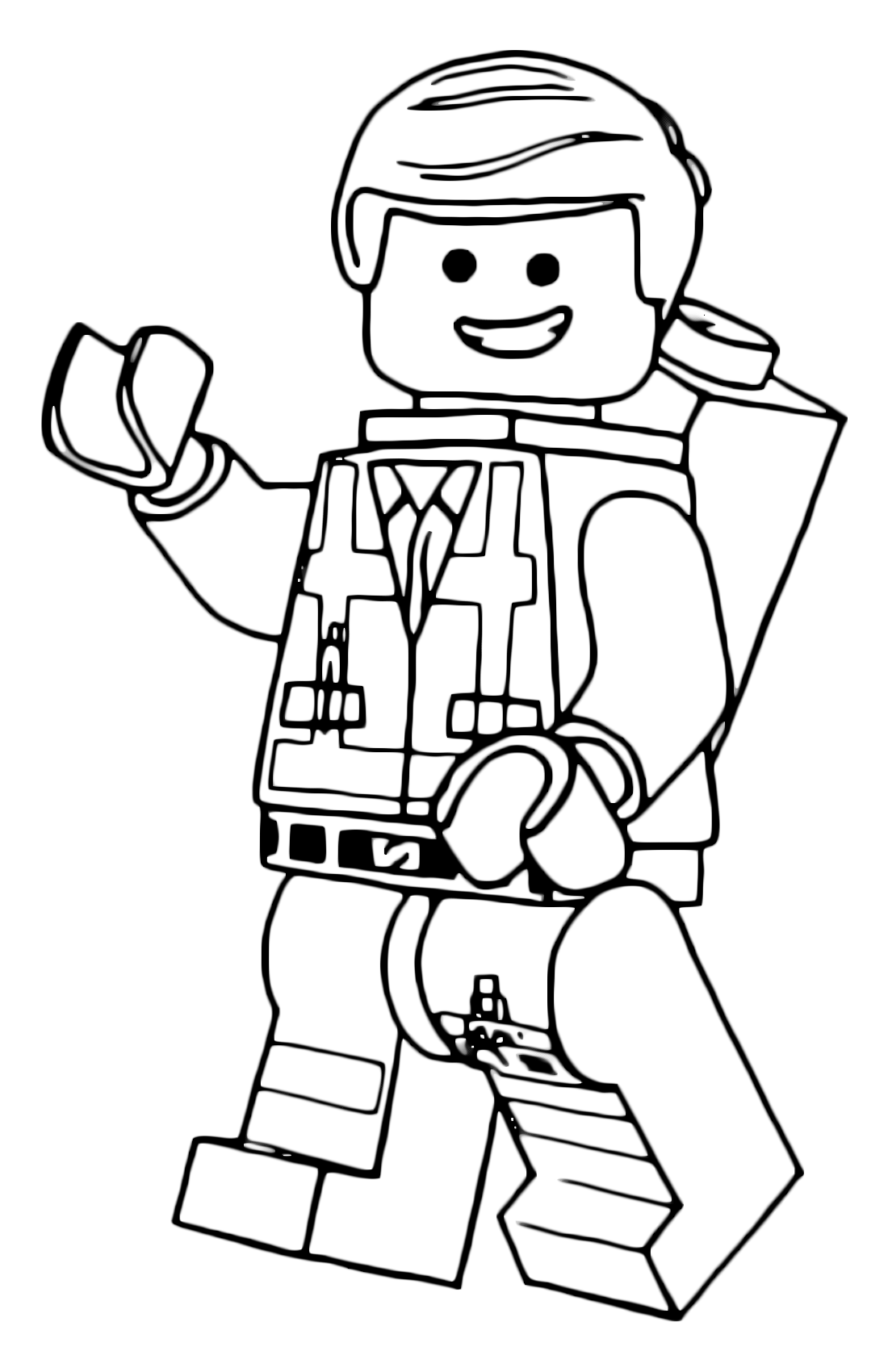 """The LEGO Movie"" coloring pages"