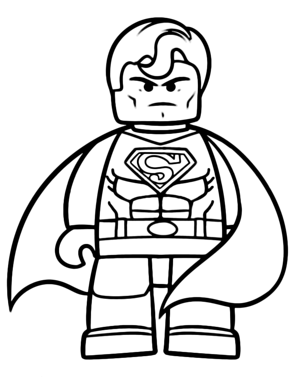 The Lego Movie The Powerful Superman
