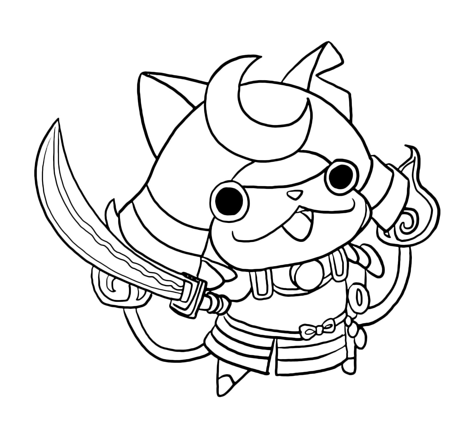 Yo Kai Watch The Legendary Yo Kai Shogunyan