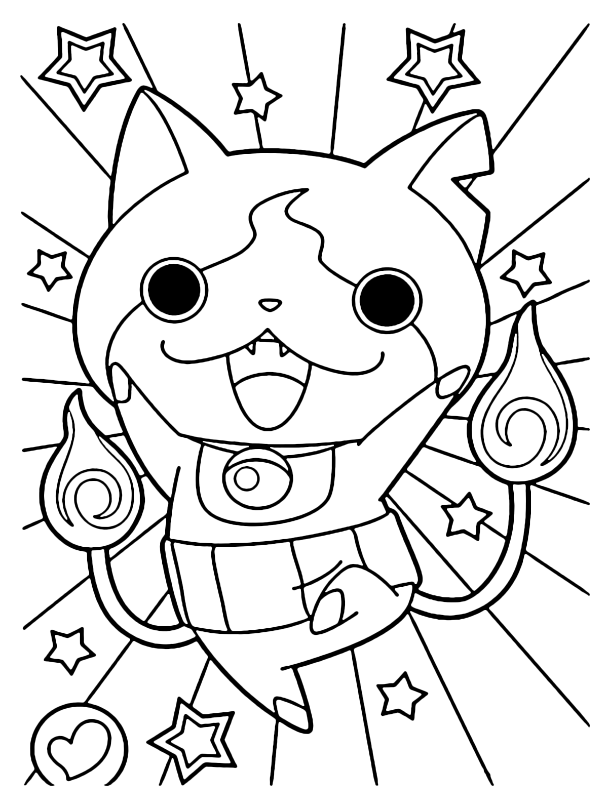Yo Kai Watch Yo Kai Jibanyan Is Happy