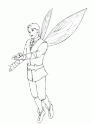 Prince with wings