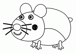 A mouse friend of Ben and Holly
