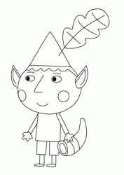 Quot Ben Amp Holly S Little Kingdom Quot Coloring Pages