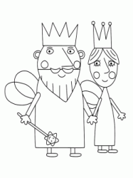 The King and Queen Thistle together by the hand