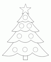 A very simple Christmas tree