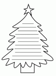 The design of a christmas tree