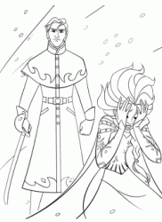 Prince Hans wants to kill Elsa