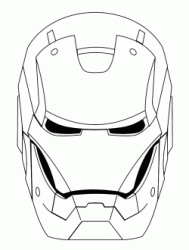 The Iron Man head