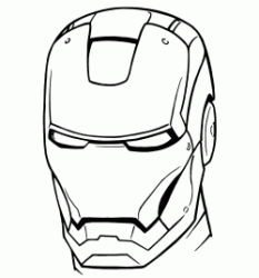 the Iron Man mask