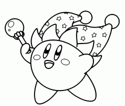 Kirby Beam with his wand