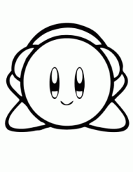 Kirby Mike with his headphones