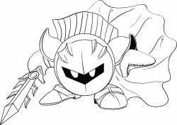 Meta Knight is an enigmatic antihero