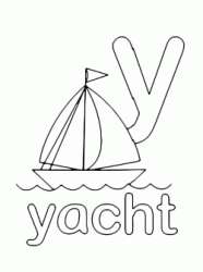 y for yachr lowercase letter