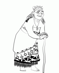 Gramma Tala the Moana's paternal Grandmother