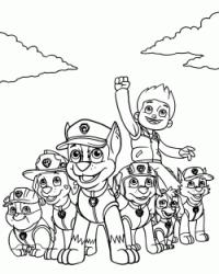 quot PAW Patrol quot coloring pages
