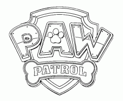 The Paw Patrol logo