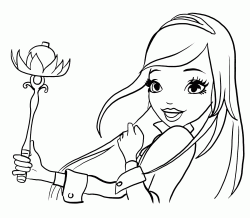 Rose with her magic wand